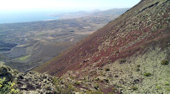 El volcán de La Corona, Lanzarote