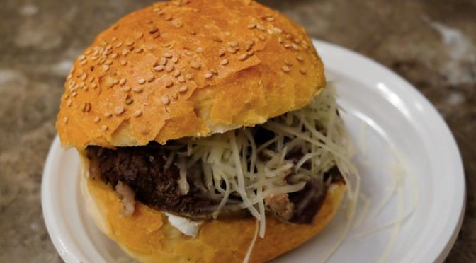 Le burger à la rate de Palerme